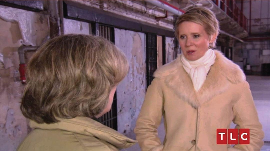 TLC's Who Do You Think You Are? Cynthia Nixon walks through Missouri State Penitentiary