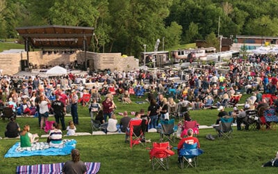 New Amphitheater Opens at Riverside park